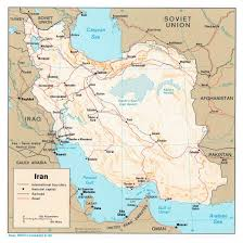 Political Map Asia by Maps Of Iran Detailed Map Of Iran In English Tourist Map Of