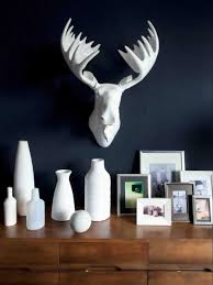 harmonious home interior decor integrates charming white resin most seen gallery featured in admirable resin deer head wall decor to prettify your home