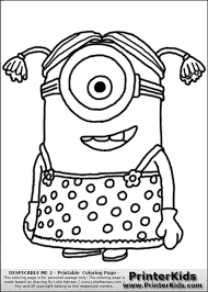 minions coloring pages interestingpage