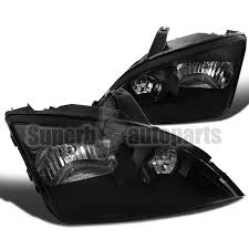 2003 ford focus headlight bulb 2005 2007 ford focus zx3 zx4 zx5 replacement black headlights