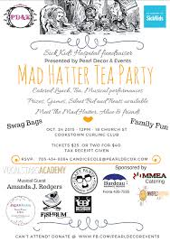 bid mad mad hatter tea for sick hospital pearl decor events
