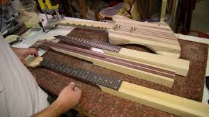 neck through guitar different types of construction for luthier