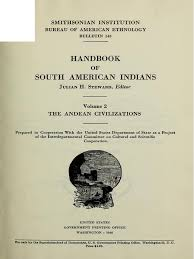 handbook of south american indians volume 2 the andean