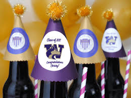 graduation favors to make make graduation party favors with a school logo complete how to