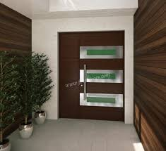 gallery of contemporary modern wood front entry doors by foret
