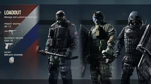 Rainbow Six Siege Operators In Rainbow Six Siege Beta All Operators Weapons Class Loadouts