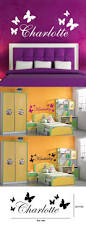 personalised butterfly any name vinyl wall sticker art decal kids personalised butterfly any name vinyl wall sticker art decal kids bedroom wall decals wall stickers for