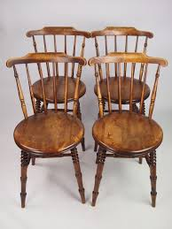 Antique Kitchen Furniture by 45 Pine Kitchen Chairs Uk Set Of Four Windsor Lathback Pine