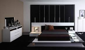 White Bedroom Furniture Set Argos Modrest Impera Bedroom Set In Black U0026 White Free Shipping Get