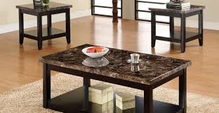 coffee tables shining praiseworthy steve silver bosco round faux