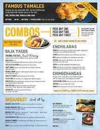 menu at berryhill baja grill 5716 fairmont pkwy restaurant prices