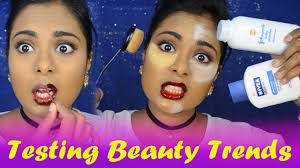 Popular Trends 2016 by Testing Popular Youtube Beauty Trends Hacks Nivea Primer Baby