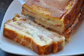 cuisine franc comtoise croque cake franc comtois morbier et jambon de pays