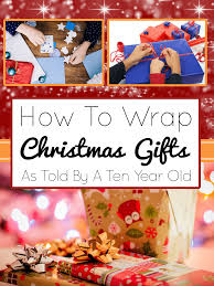 how to wrap christmas gifts imagine forest
