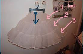 how to make a petticoat petticoat tutorial how to make petticoat on your