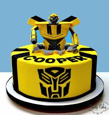 transformer cake lovely cakes kids cakes
