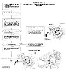 i got a code 12 on a 1992 honda accord lx automatic i replaced the