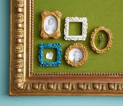 Cork Board Decorative Frame Gold Round Push Pin Thumbtack Frame Desk Organizer Mothers Day