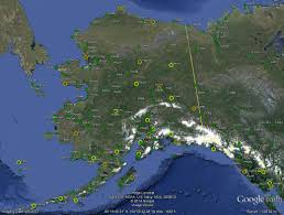alaska this image shows metar locations at the end of 2016 across alaska in green sites with a yellow circle are augmented part time orange circles show sites