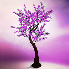 7 led cherry blossom tree purple holidynamics