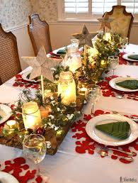 holiday table decorations christmas how to decorate christmas table winter wonderland live decorated