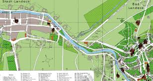city map german city and regional maps city map of landeck