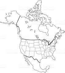 North America Map by North America Map Including Central America Bugbog Reference Map