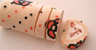 how to make kawaii deco roll cake cute decorated swiss roll