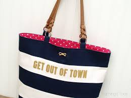 nautical bags kate spade nautical tote knockoff