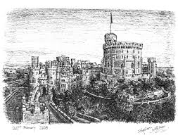 windsor castle drawings and paintings by stephen wiltshire mbe