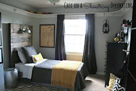 chic on a shoestring decorating bigger boy room reveal