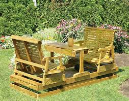 Homemade Patio Furniture Plans by Double Adirondack Chair Plans Home Chair Decoration