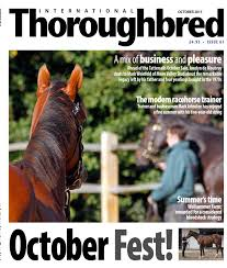 Maurice Barnes Racehorse Trainer Itb October2015 By Thoroughbred Publishing Issuu