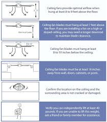 hang a ceiling fan install or replace a ceiling fan intended for
