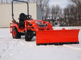 kubota bx quick attach snow plow attachments bxattachments com