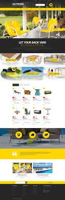Chair Website Design Ideas Stylish Outdoor Furniture Prestashop Theme 52247