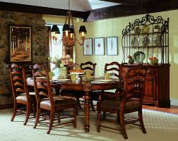 hooker furniture dining room waverly place sporty cognac fabric