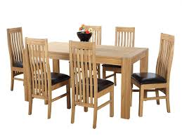 Oak Dining Room Table And 6 Chairs Oak Dining Tables And Chairs Marceladick