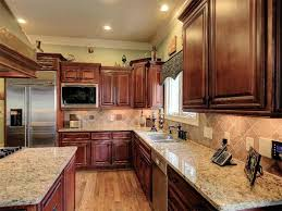 Traditional Kitchen With Stone Tile  Flush In Marietta GA - Kitchen cabinets marietta ga