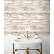 Peel And Stick Wallpaper Reviews by Distressed Barnwood Plank Wood Peel And Stick Wallpaper U2013 D Marie