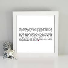 sister gift best sister quote framed print framed sister