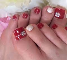 20 best merry christmas toe nail art designs 2016 holiday nails