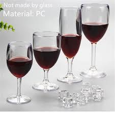 aliexpress com buy multi sizes transparent acrylic wine glass