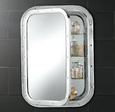 porthole mirrored medicine cabinet nautical medicine cabinet best ideas about porthole mirror on