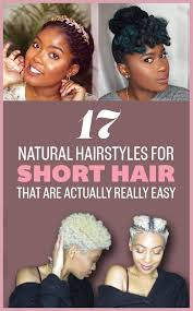how to put rollersin extra short hair 17 gorgeous natural hairstyles that are easy to do on short hair