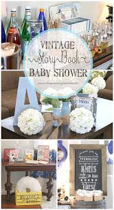 storybook themed baby shower the vintage storybook baby shower for baby boy the