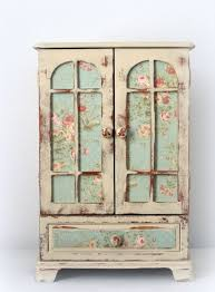 Shabby Chic Jewelry Armoire by Shabby Chic Amoires Huge Shabby Chic Jewelry Box Dresser Armoire