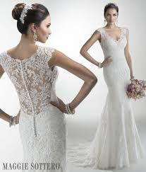 maggie sottero wedding dresses friday favorite illusion lace wedding dress maggie