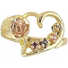 black gold mothers ring handcrafted authentic black gold jewelry