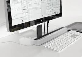 Modern Desk Tidy Deskrail Is A Desk Tidy For The Modern Age Kickstarter Cult Of Mac